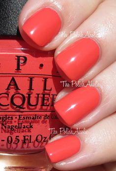 The PolishAholic: OPI Spring/Summer 2014 Brazil Collection Swatches - Live.Love.Carnaval