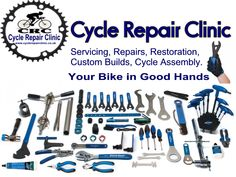 Do you need bicycle repairs in Chesterfield, Derbyshire? Visit or call Cycle Repair Clinic on 01246 476 305 today for more information Repair Clinic, Derbyshire, Chesterfield, Restoration, Bicycle, Bike, Bicycle Kick, Trial Bike, Bicycles