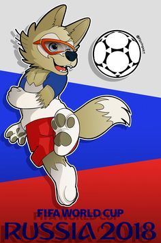 zabivaka fanart by on DeviantArt World Cup Russia 2018, World Cup 2018, Fifa World Cup, Male Furry, Furry Art, Soccer Cup, Mexico 2018, Word Cup, World Football