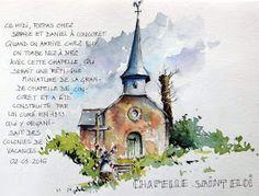 Avec Lilyan et Elena, nous étions invités ce jour à déjeuner à Concoret chez Sophie et Daniel. Après un accueil très chaleureux et des papot...