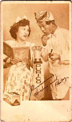 Philippine Comedy Team Chichay and Tolindoy. 1950s