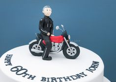 Motorbike Cake For Kids Men's cakes / 60th biker cake