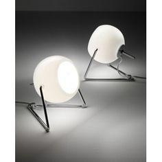 FABBIAN : BELUGA White - LAMPE DE TABLE DESIGN