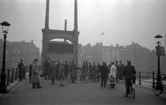 Fights between Jews, non-Jewish sympathisers and National Socialists on and around Rembrandtplein resulted in closure of the Jewish quarter in Amsterdam on 12 February 1941. The area was cut off by raising the Magere Brug (Skinny Bridge) over the Amstel river. This was a temporary measure. Amsterdam never had an actual Jewish ghetto.
