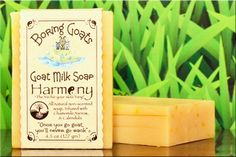 """""""Harmony"""" Goat Milk Soap. The perfect Yin for your skin's Yang... Made with a unique infused blend of Yarrow, Calendula and Chamomile. We painstakingly hand infuse each into Sunflower oil to create a premium soap that your skin will love."""