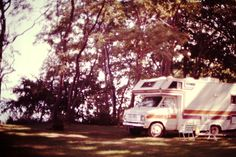 1982 In campground near Westfield, NY