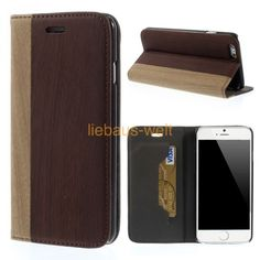 iPhone 6 Leder Case im Holz Look Braun Iphone 6, Cases, Get Tan, Timber Wood