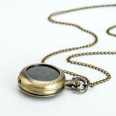 HOT Perfect DIY pocket watch necklace pendant 25mm by Leesglasses