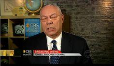 Colin Powell Endorses Barack Obama For President (VIDEO)