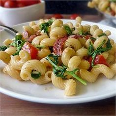 Chef John's BLT Pasta  - Allrecipes.com substitue sour cream for creme fraiche