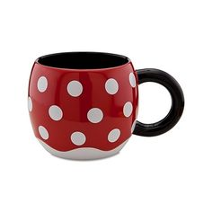 Disney Store 25th Anniversary Skirt Minnie Mouse Mug | Drinkware | Disney Store, found on polyvore.com