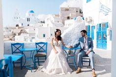 Having fun in Santorini! Mykonos, Santorini, Wedding Season, Wedding Day, Greece Islands, Photography Services, Athens, Got Married, Destination Wedding