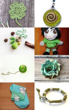Green Fall,     S 14 by Millie Ol on Etsy--Pinned with TreasuryPin.com