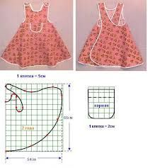I did that with flaps: Apron for Girls - with mold
