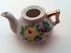 Antique Teapot Made in Japan - Mini