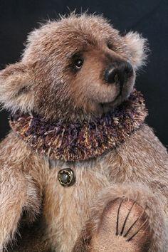 Bristle-ley Bear by Lori Simon