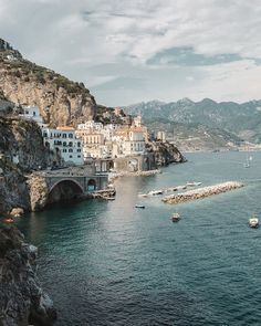 A recognised UNESCO World Heritage Site the Amalfi Coast lies in the southwestern region of Campania Italy and is recognised worldwide for its cliff-side Mediterranean fishing villages lemon tree gardens and idyllic seascapes. We spent a whole day around the Amalfi visiting places such as Atrani and Positano sunbathing on scorching beaches and drinking lemon beer. Seriously dont know how I went 26 years without trying one but now theres no going back. #dvsn #ladolcevita