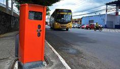 Radares de trânsito de  Salvador ganham revestimento antivandalismo +http://brml.co/1S1JVo5