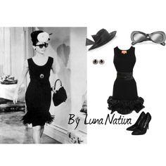 Audrey Hepburn inspired short dress, created by luna-nativa