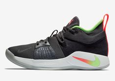 2105d72b440 Gradient Swoosh Logos Appear On The Next Nike PG 2 Release Nike Basketball
