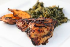 Cue the Bob Marley music. We're jammin. After my Eating Well magazine arrived with its article about Jamaican Cuisine I said I must try this tonight! We had a little impromptu party with my parents and our friend Jim. Jamaican Jerk Chicken (Altered from Jacqui's Jerk Chicken,Eating Wellpp. 66) Ingredients 5 lbs bone in chicken …