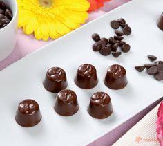 Cioccolatini con il cuore di amarena