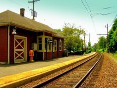 New Jersey Transit Train station within walking distance Indio Ca, New Providence, Car Rental, Train Station, New Jersey, The Neighbourhood, Cabin, House Styles, Places