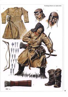 mongol warrior - Google Search