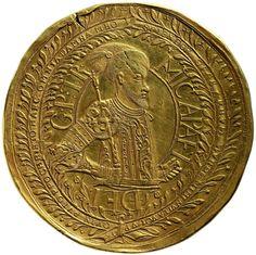 Principality of Transylvania: Michael Apafi (r. 1661–1690), unknown mint, 1677, 100 ducats (346,72 g), Inv.-No. 68bβ, Ø 85 mm © KHM-Museumsverband