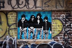 The famous French street artist Invader has just completed his wave of invasion in New York, by installing 42 new creations in the streets of the Big App Andy Warhol, New York Street, New York City, New York Images, Hama Art, Spiderman, Photo Sculpture, French Street, Nyc
