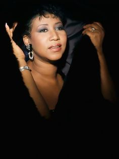 ARETHA FRANKLIN Born Aretha Louise Franklin on March 25,1942 in Tennessee.