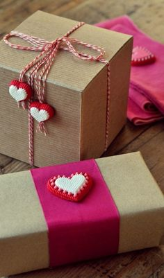 63388b50e Creative Gift Wrapping, Present Wrapping, Creative Gifts, Wrapping Ideas, Valentines  Gift