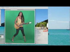 """Photoshop Chroma Key HOW-TO / Photoshop Green Screen HOW-TO. This is how to chroma key in Photoshop. At a high-level, it's simply taking a photo of a subject in front of a solid background and then """"keying out"""" the background to replace with another background. This is easy to do within Photoshop and I demonstrate Photoshop green screening step-by-step within this video. Please share this video with others and be sure to check out my other videos on my channel too! Have a good day!"""
