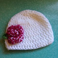 Cute Baby Crocheted Flower Hat by LisaSchwimmer on Etsy https://www.etsy.com/listing/257159998/cute-baby-crocheted-flower-hat