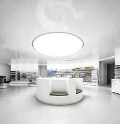 Lordelo pharmacy by José Carlos Cruz, Vila Real Portugal store design