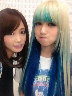 Rina Suzuki and Mami Sasazaki (SCANDAL)