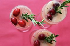 Anyone Cran Make Our Cranberry Pear Ginger Fizz via Brit + Co.