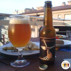 Nom: Mikkeller El Celler de can Roca Fabricant: Mikkeller (Humletorvet, Copenhagen, Denmark). Grau alcohòlic: 5% Alc/Vol. Color: Daurat. Transparència: Poc transparent. Escuma: Veig i consistent. Estil: Pilsner Style Beer  web: www.mikkeller.dk / www.cellercanroca.com  IG: @mikkellerbeer  Ingredients: Malta: Pils, Cara-pils i Munich. Llúpol: Columbus, Nelson sauvin, Citra, Matueka