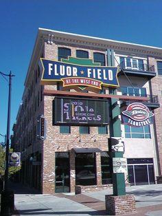 Fluor Field by kmoliver, via Flickr #swamprabbittrail #greenvillesc #fluorfield #downtowngreenvillesc  #healthy #health #fit #fallspark #riverfallspark