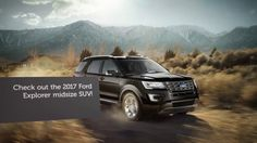 The #2017Ford #Explorer from New Albany, IN tops rivals in its segment by offering power, generous features, and stunning value at every level.