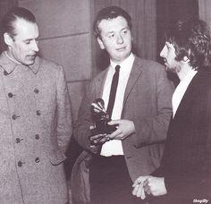 George Martin, ???, & Ringo.