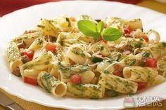 Receita de Tortilhone com berinjela ao pesto de manjericão em receitas de massas, veja essa e outras receitas aqui!