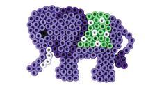 Elephant Hama beads - Small World - HAMA 3504
