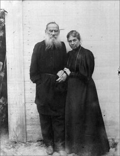 Leo Tolstoy and Sophia Andreyevna, August Their youngest son Vanechka had died six months earlier, so they were still in mourning. Ivan Turgenev, Realistic Fiction, Russian Literature, Peter The Great, Essayist, Writers And Poets, Book Writer, Great Life, Book Review