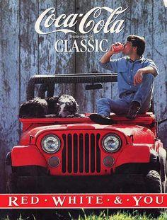 Coca Cola Classic ad