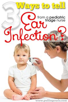 This ear infection symptoms post will help you know if it's an ear infection or if it's something else (and save yourself a copay) Ear infections can be so miserable. Let's help our little ones!