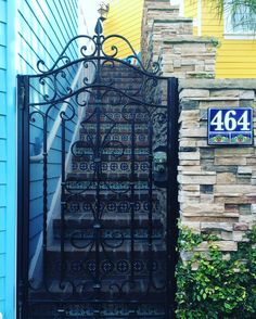 #This #door .. #these #colors .. #those #stairs  by sea__the__stars