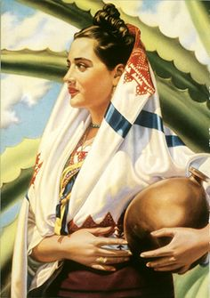 Mexico Blue Agave Tequila Senorita - Vintage Mexico Tourism Posters, Art, and Prints - Enjoy Art