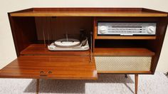 My Alba stereo Radiogram i restored 2016.