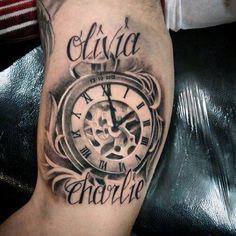 Diseños De Tatuajes Con Nombres En La Pierna Buscar Con Google